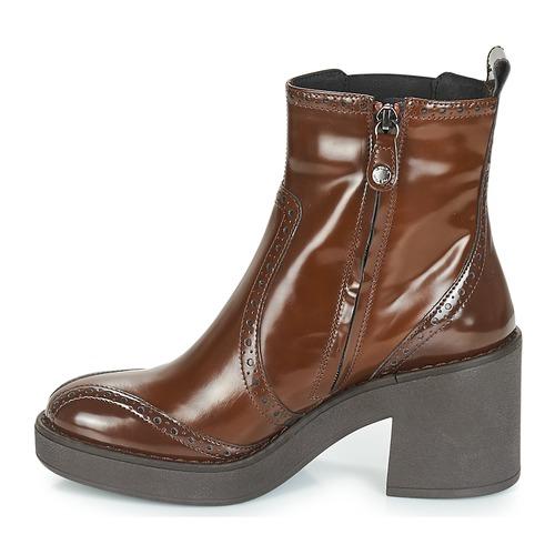 Geox D ADRYA MID Braun Braun Braun  Schuhe Low Stiefel Damen bd9b30