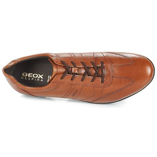 Geox UOMO SYMBOL Braun  Schuhe Sneaker Sneaker Sneaker Low Herren 99,99 cb1ed3