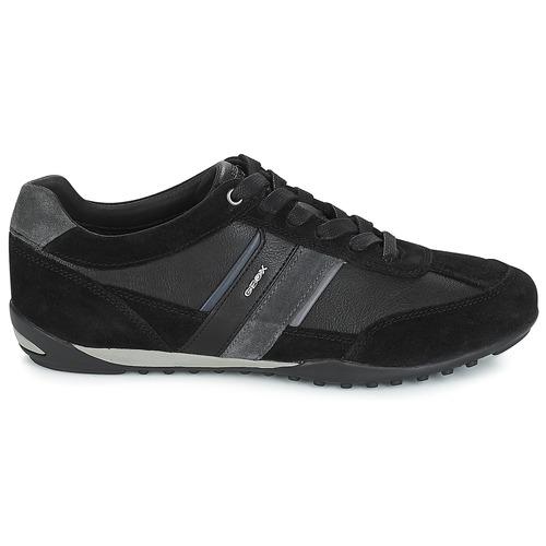 Geox U WELLS Schwarz / / / Marine  Schuhe Sneaker Low Herren 99,99 0560d5