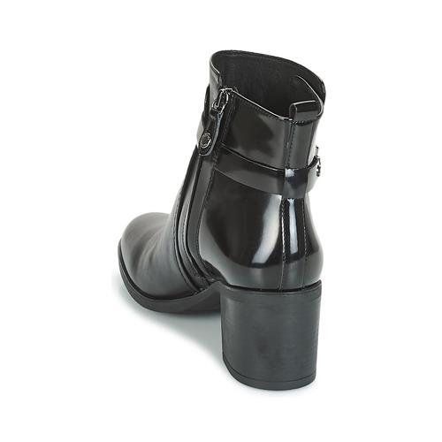 Geox D GLYNNA Schwarz  Schuhe Low Boots Damen 139