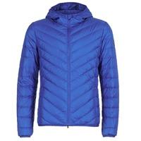 Kleidung Herren Daunenjacken Emporio Armani EA7 TRAIN CORE SHIELD 8NPB09 Blau