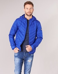 Kleidung Herren Daunenjacken Emporio Armani EA7 TRAIN CORE SHIELD 8NPB09 Blau