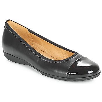 Schuhe Damen Ballerinas Gabor BORINA Schwarz