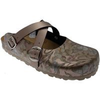 Schuhe Damen Pantoffel Riposella RIP19225br marrone