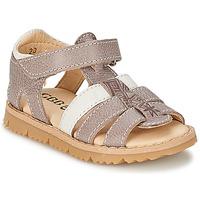 Schuhe Jungen Sandalen / Sandaletten GBB IGNAM Grau