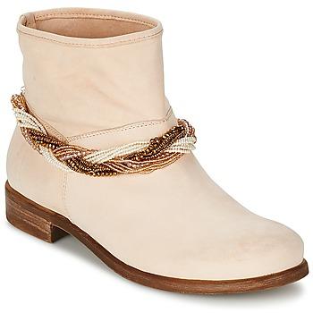 Schuhe Damen Boots Tosca Blu TETHYS Beige