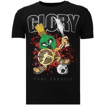 Kleidung Herren T-Shirts Local Fanatic Glory Martial Strass Schwarz