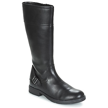Schuhe Mädchen Klassische Stiefel Geox JR SOFIA Schwarz