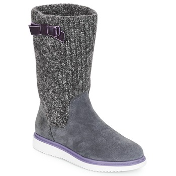 Schuhe Mädchen Klassische Stiefel Geox J THYMAR GIRL Grau