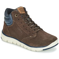 Schuhe Jungen Sneaker High Geox J XUNDAY BOY Braun / Marine