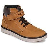 Schuhe Jungen Sneaker High Geox J RIDDOCK BOY WPF Braun