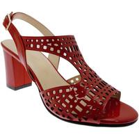 Schuhe Damen Sandalen / Sandaletten Soffice Sogno SOSO8130ro rosso
