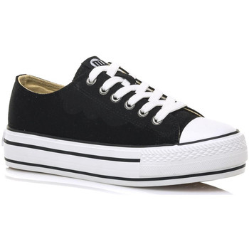 Schuhe Sneaker Low MTNG 69423 Schwarz