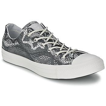 Schuhe Damen Sneaker Low Converse CT REPT PRT OX Schwarz / Weiss