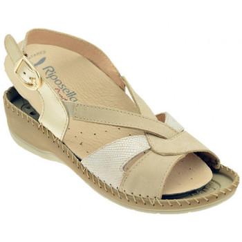 Schuhe Damen Sandalen / Sandaletten Riposella 6435BEIGEsandale