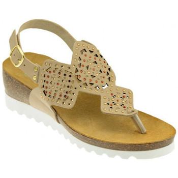 Schuhe Damen Sandalen / Sandaletten Riposella 19283BEIGEsandale