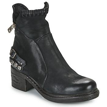 Schuhe Damen Boots Airstep / A.S.98 NOVA 17 Schwarz