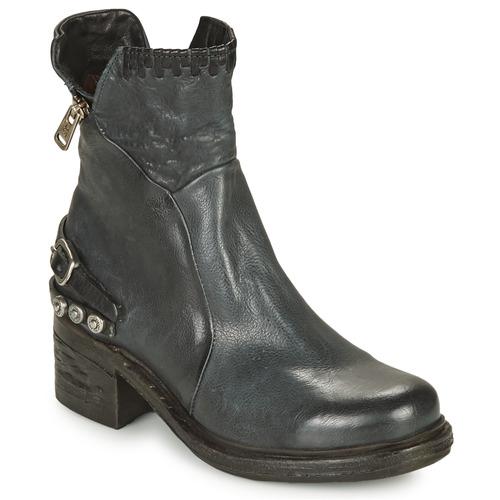 Airstep / A.S.98 NOVA 17 Blau / Schattengrau / Schwarz Schuhe Boots Damen 199