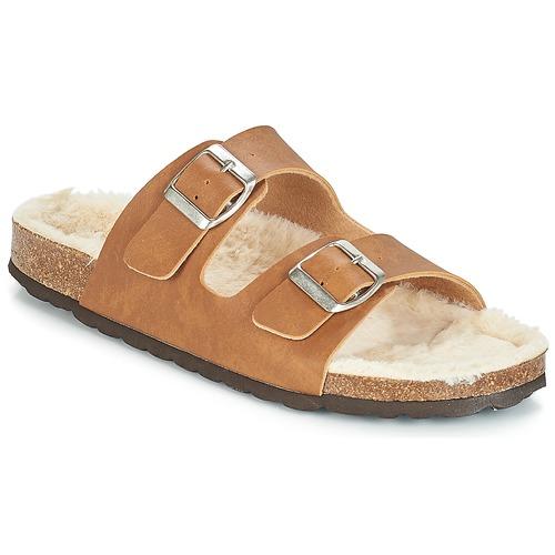 Schuhe Damen Pantoffel Casual Attitude JODRI Camel