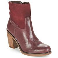 Schuhe Damen Low Boots Casual Attitude WASRAH Rot