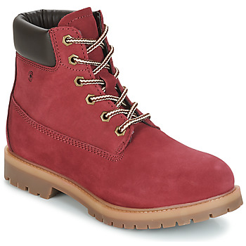 Schuhe Damen Boots Casual Attitude JORD Rot