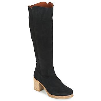 Schuhe Damen Klassische Stiefel Casual Attitude HAPI Schwarz