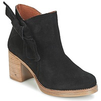 Schuhe Damen Low Boots Casual Attitude HIRCHE Schwarz