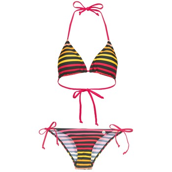 Kleidung Damen Bikini Little Marcel BASTINE Schwarz / Multifarben