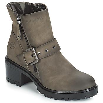 Schuhe Damen Low Boots Bugatti BORLAM Grau