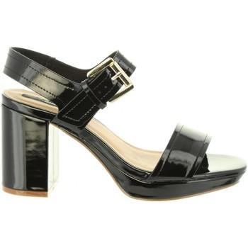 Schuhe Damen Sandalen / Sandaletten MTNG 50939 SAVANNA Negro