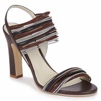 Schuhe Damen Sandalen / Sandaletten Jil Sander JS16121 Braun