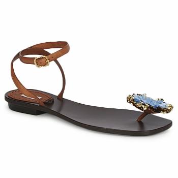 Schuhe Damen Sandalen / Sandaletten Marc Jacobs MJ16131 Braun / Blau