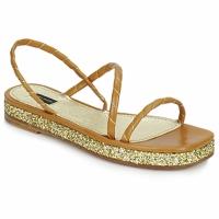 Schuhe Damen Sandalen / Sandaletten Marc Jacobs MJ16405 Braun / Gold