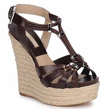 Schuhe Damen Sandalen / Sandaletten Michael Kors IDALIA Braun