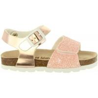 Schuhe Mädchen Sandalen / Sandaletten Cheiw 47124 Rosa