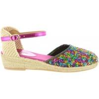 Schuhe Mädchen Leinen-Pantoletten mit gefloch MTNG 45706 R1 Varios colores