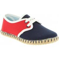 Schuhe Jungen Leinen-Pantoletten mit gefloch MTNG 47307 Azul