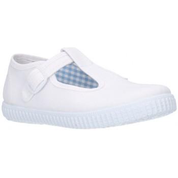 Schuhe Jungen Sneaker Batilas 52601 blanc