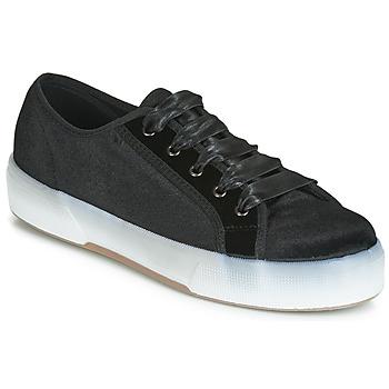 Schuhe Damen Sneaker Low André MIRA Schwarz