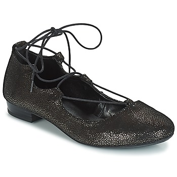 Schuhe Damen Ballerinas André COLOMBINE Gold