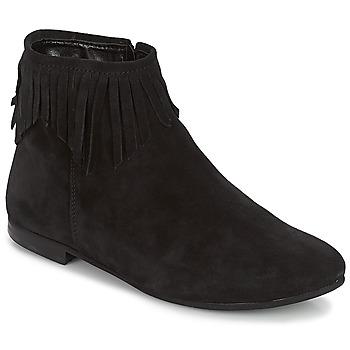 Schuhe Damen Boots André COACHELLA Schwarz