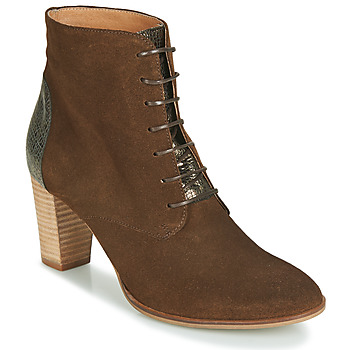 Schuhe Damen Boots André CLAUDIA Maulwurf