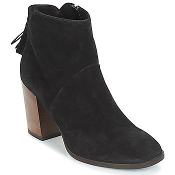 Schuhe Damen Low Boots André CARESSE Schwarz