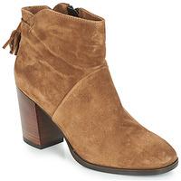 Schuhe Damen Boots André CARESSE Camel