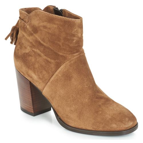 André CARESSE Camel  Schuhe Boots Damen