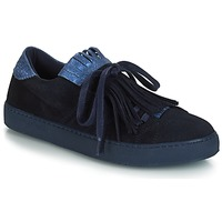Schuhe Damen Sneaker Low André CALIFORNIA Blau
