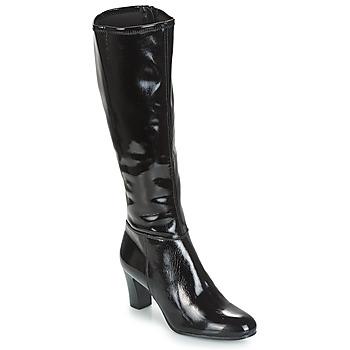 Schuhe Damen Klassische Stiefel André GANTELET 3 Schwarz
