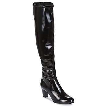 Schuhe Damen Klassische Stiefel André PRISCA 2 Schwarz
