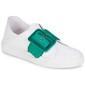 Schuhe Damen Sneaker Low Minna Parikka ROYAL Emerald-white