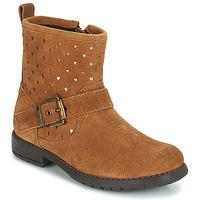Schuhe Mädchen Boots André SALMA Camel